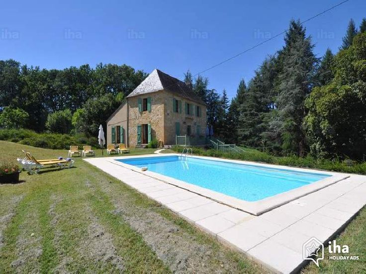 Mooi ! Te huur Gourdon Frankrijk Natuurstenen Huis, ontdekken 'La Garrigue' Vakantiewoningen van 2 tot 8 Persoon N°73359 IHA : zwembad, Parkeerterrein