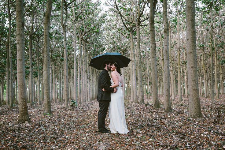 Wet weather wedding photos. Image: Cavanagh Photography http://cavanaghphotography.com.au