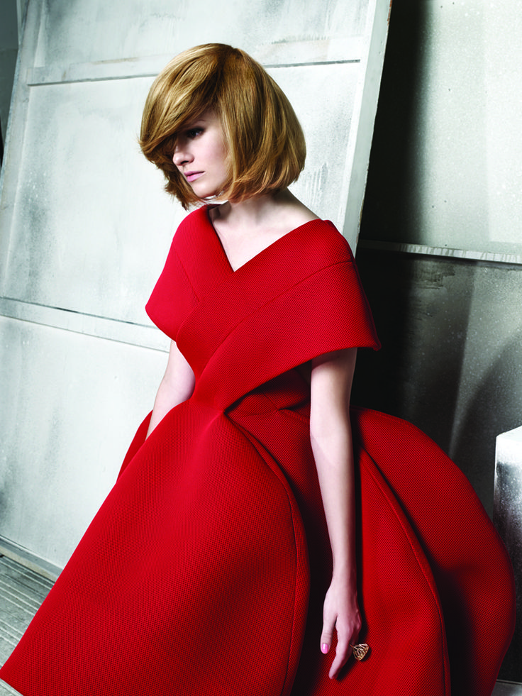 IT LOOKS A/W 2014 - trends by Czech and Slovak L'Oréal Professionnel ambassadors, look by Andrea Josková #itlooks #fw2014 #ambassadors #trends #lorealprofessionnel