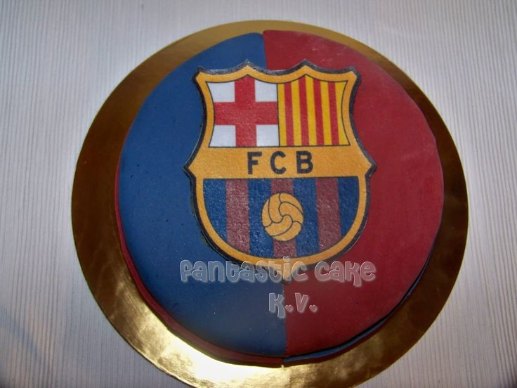 Tarta del F.C. Barcelona