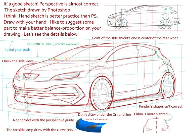 39 best Perspective cars images on Pinterest | Car sketch, Product ...