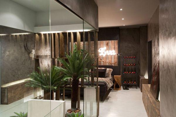 En-suite bedroom design inspired by the Garden of Eden