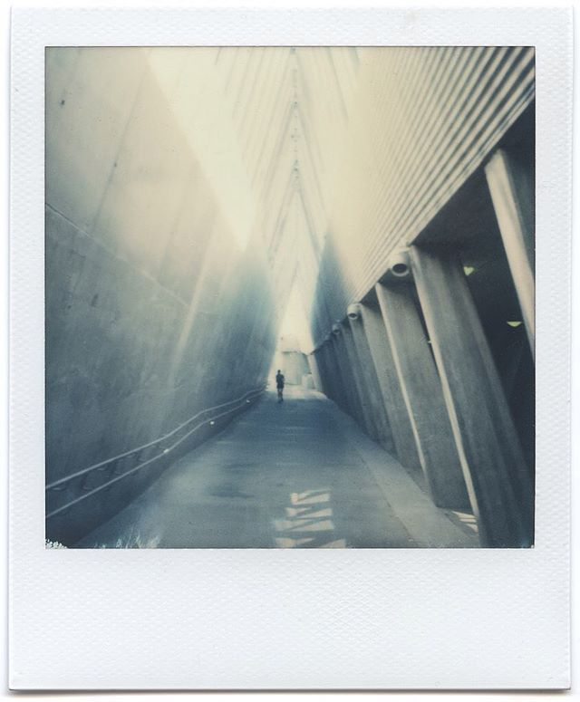 Location scouting in Oslo, with #SX70 and some Impossibles, always fun!  You guys enjoy Easter holidays!