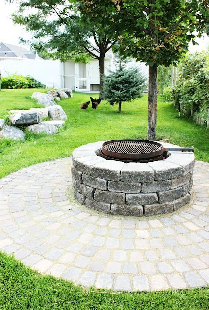 113 best fire pits images on pinterest | backyard ideas, patio ... - Outdoor Fire Pit Patio Ideas