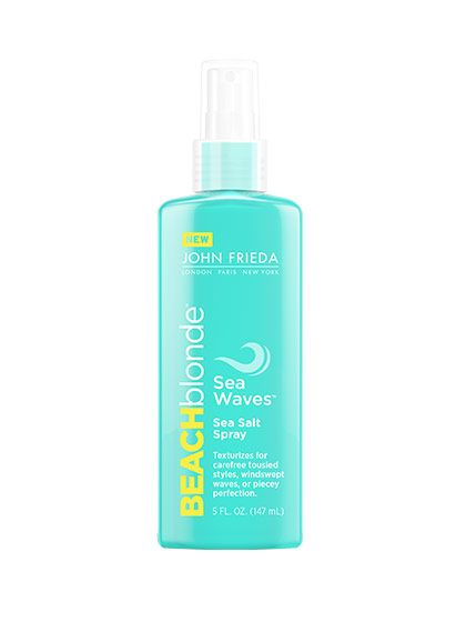 HAIR It's baa-aack. This cult-favorite beach spray is back from the beauty graveyard, and the soft, smooth, beachy waves it creates are just as awesome as we remember.