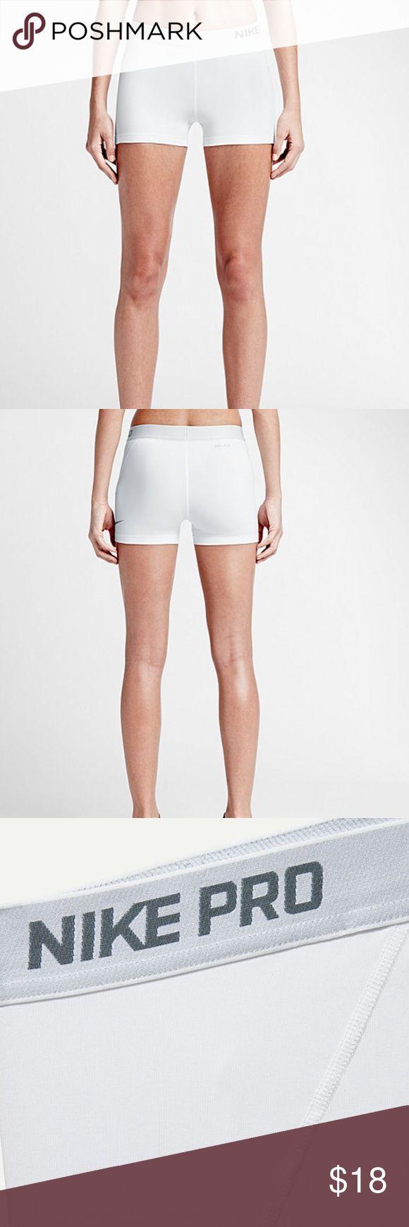 """Nike pro women's 3"""" training shorts size medium Nike pro women's 3"""" training shorts size medium great condition!! nike Shorts"""