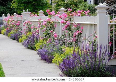 94 Best Images About Front Yard Fencing On Pinterest