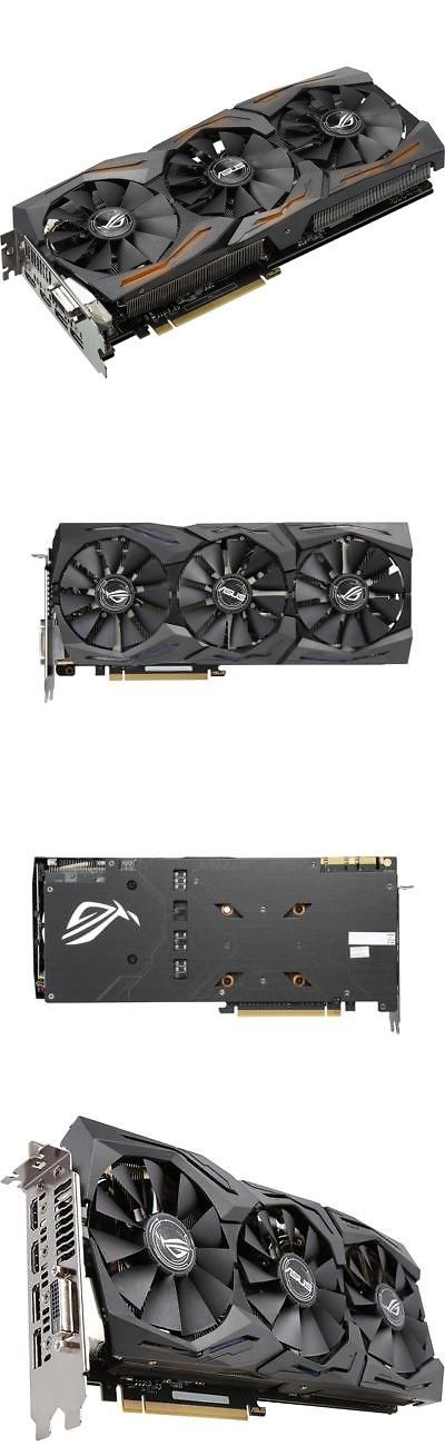 computer parts: Asus Rog Strix Geforce Gtx 1070 8 Gb Graphic Card - 1.53 Ghz Core - 1.72 Ghz -> BUY IT NOW ONLY: $469.99 on eBay!