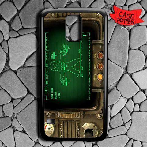 Fallout Pipboy Rainmeter Samsung Galaxy S5 Black Case