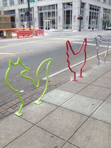 The Snap: Martin Street Animal BikeRacks