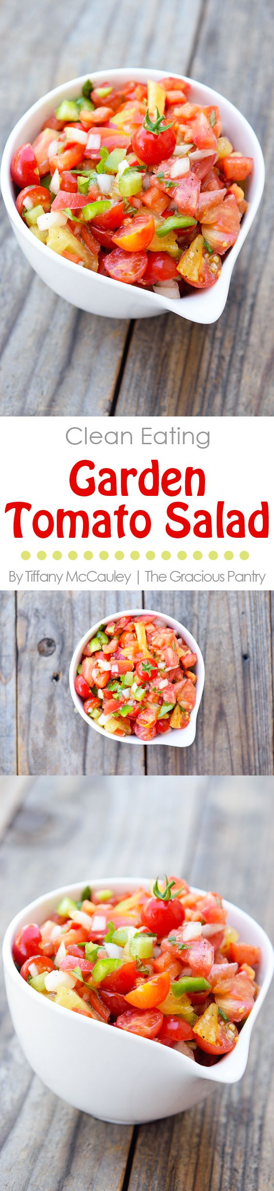 157 best clean eating vegetarian recipes images on pinterest clean eating garden tomato salad tomato salad recipestomato recipevegetable forumfinder Gallery