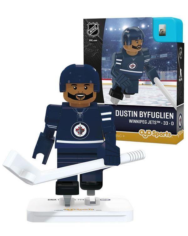 Winnipeg Jets DUSTIN BYFUGLIEN Home Uniform Limited Edition OYO Minifigure