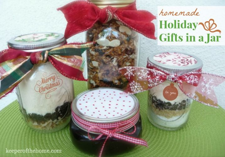 The BEST Homemade Holiday Gifts-in-a-Jar!
