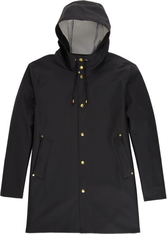 Stutterheim Raincoats Stockholm Raincoat-Black