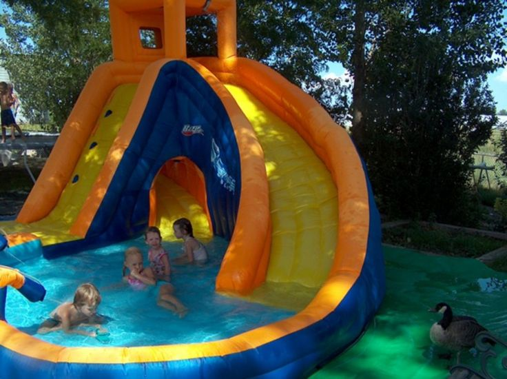 Marvelous Home Water Slide Make Your Home As Great As