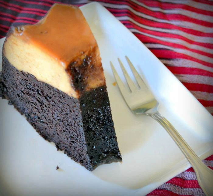 İmkansız Kek - Chocoflan