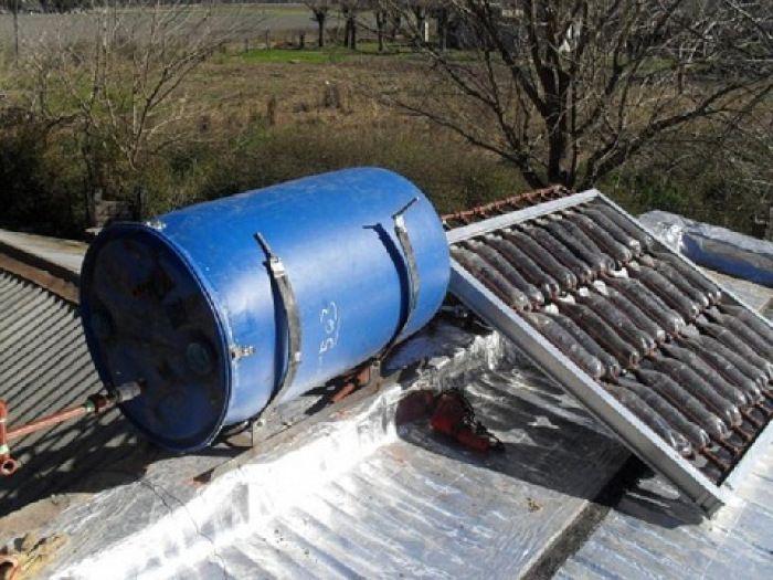 Como construir un calentador solar casero con botellas de plástico