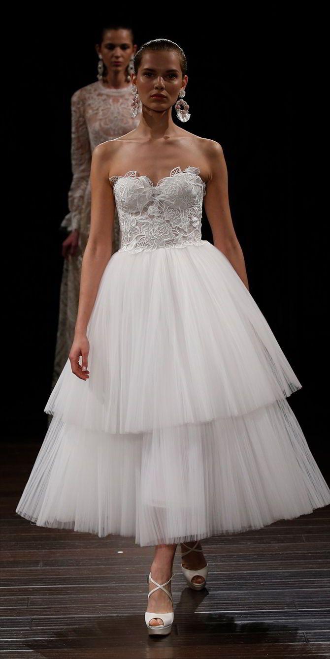 226 besten Short & Tea Length Wedding Dresses Bilder auf Pinterest ...