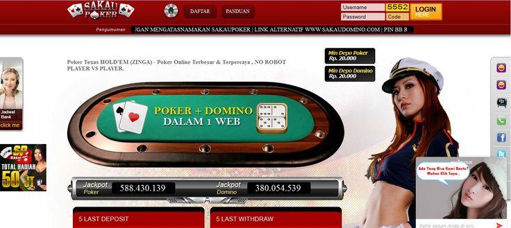 SAKAUPOKER – Agen Poker Online, DominoQQ Terpercaya