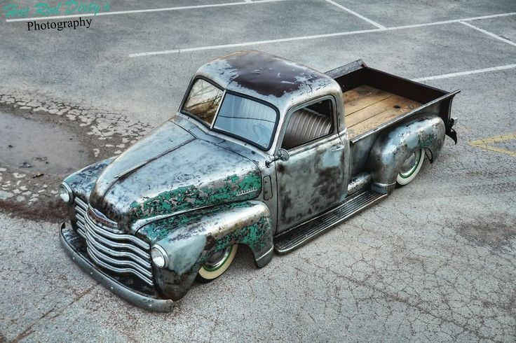 1950 Chevy | Bare Metal | On air - Front
