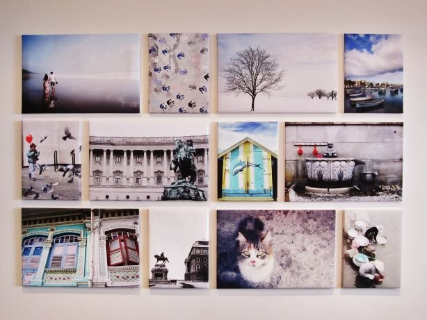 travel photo gallery wall - Google Search