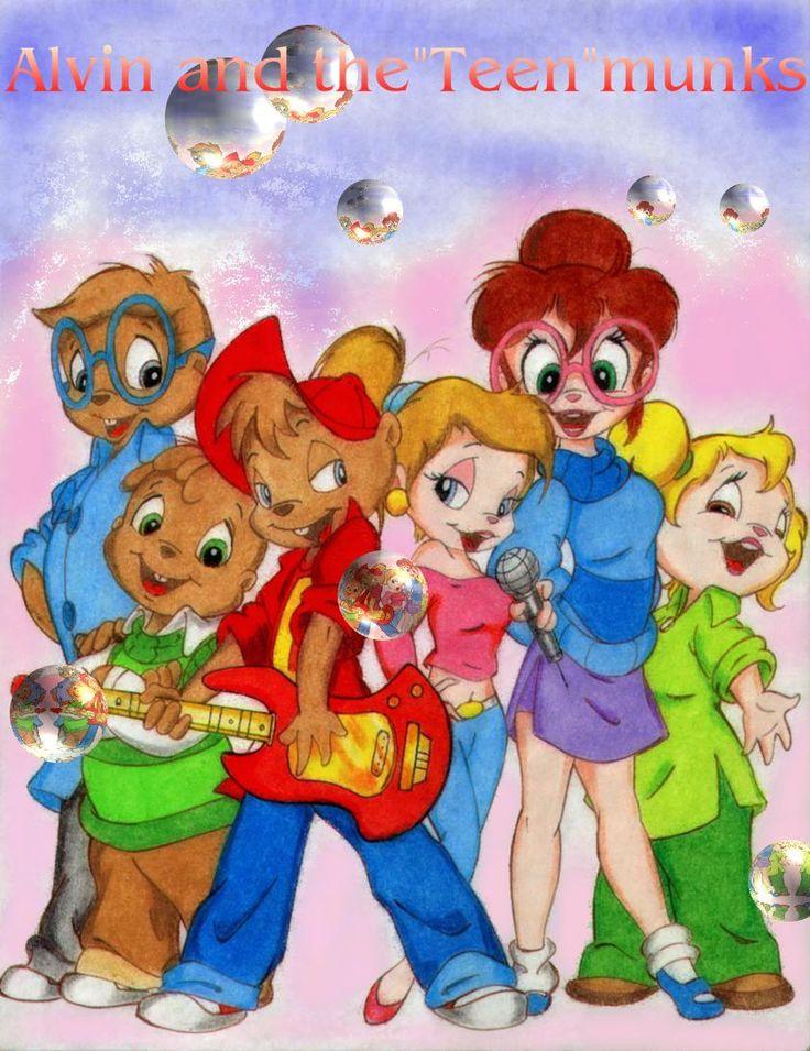 Alvin and The Teenmunks by CTW36.deviantart.com on @deviantART