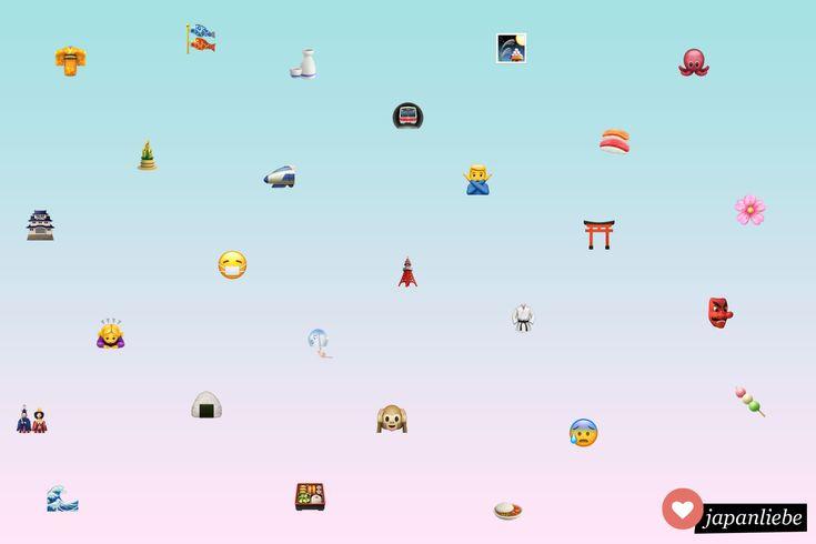 Übersicht: Alle iOS Emojis mit Japanbezug