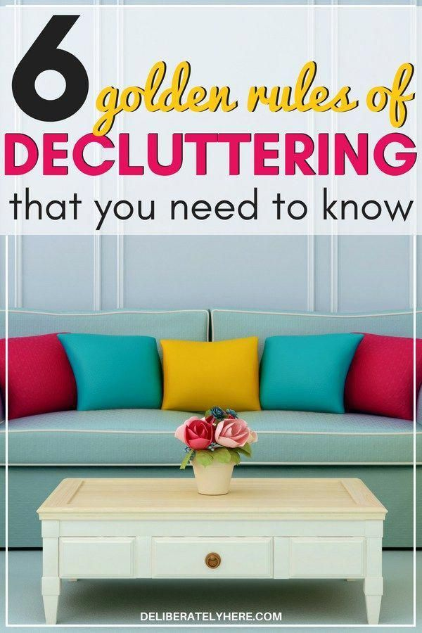 6 Best Home Decluttering Tips To Help You Declutter And Organize Your House Fast Golden Rules Of Create A Pla Clutter Cleaning Club In