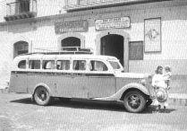 Camión de pasajeros, años 30. México