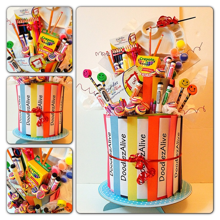 Celebrate your little artist with our NEW Doodlez Cake!