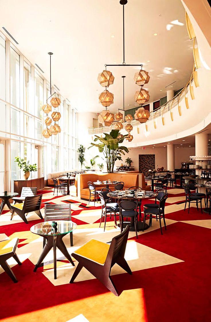5 Hotels Sporting Midcentury Modern Design In North CarolinaDurham CarolinaCommercial Interior