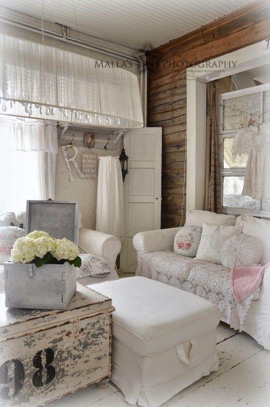 35 best Wohnzimmer Shabby Chic - living room - obývací pokoj - shabby chic wohnzimmer