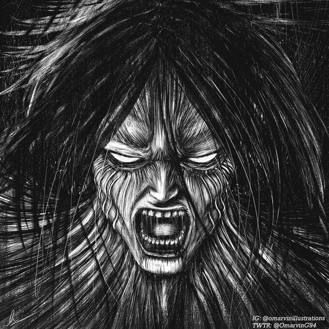 Eren manga 123 by OmarvinG64   Attack on titan, Eren jäger ...
