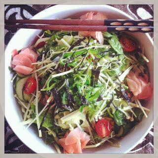 Japanese Seaweed & Enoki bowl