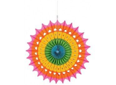 Multi-Coloured Fan Decoration | Whish.ca