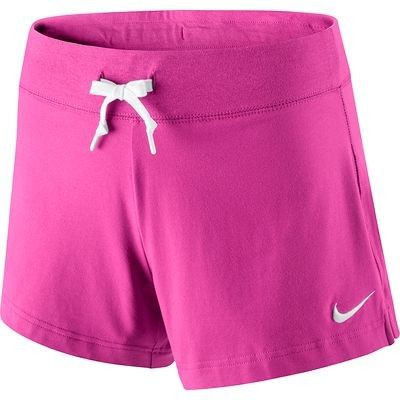Fitness_habi gym Fitness - Short Nike dames roze NIKE - Fitnesskleding