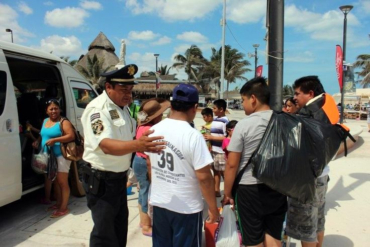 Policía turística de SSP, atenta a los visitantes