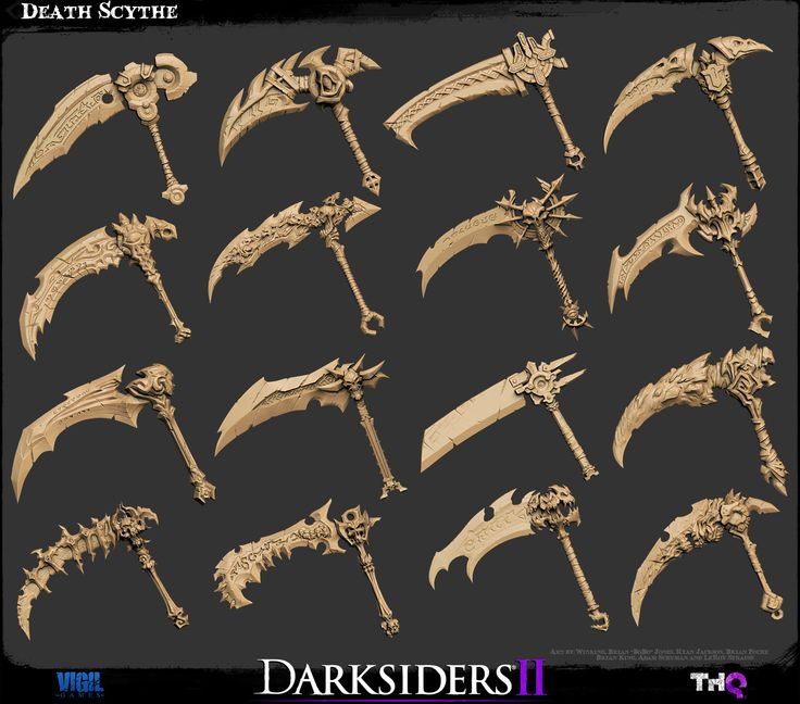 The Character Art of Darksiders II (new images pg 5, 6, 7) - Page 6