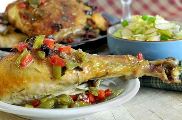 How to Bake a Turkey Leg | LIVESTRONG.COM