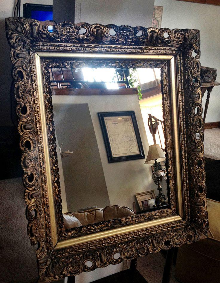 Superb DIY Medicine Cabinet Using Old Picture Frame