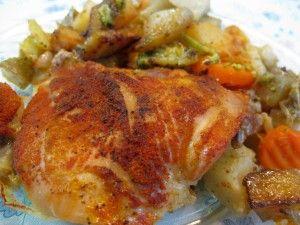 Baked Chicken (Pečené Kura) recipe - Slovak Cooking