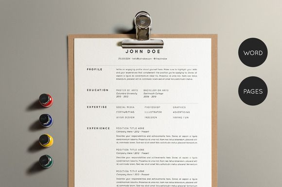 Resume Template Pack | CV Template - Resumes