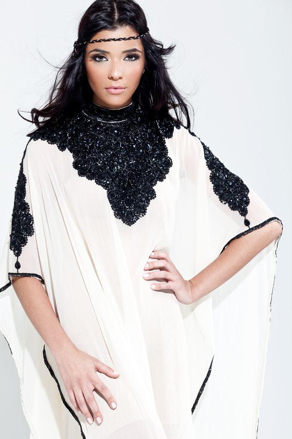 "The ""Basma"" Yara Yosif Kaftan / Caftan dress. Order from YaraYosif.com."