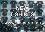 Casper art t-shirts by thecasperart