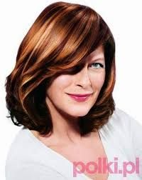Znalezione obrazy dla zapytania fryzury dla starszych pań