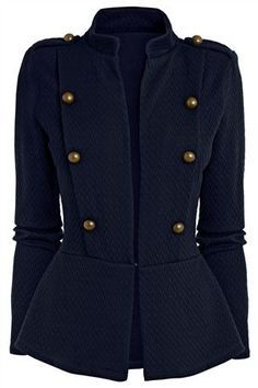 womens military style jacket from the Next UK online shop. homina. homina. homina.
