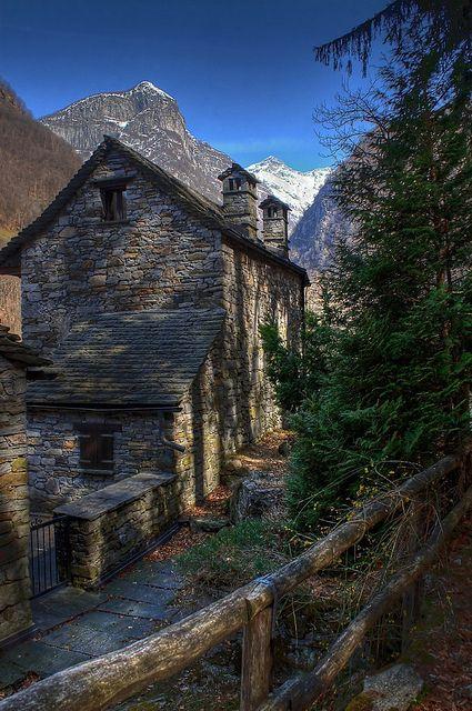 Verzasca valley, Ticino, Switzerland