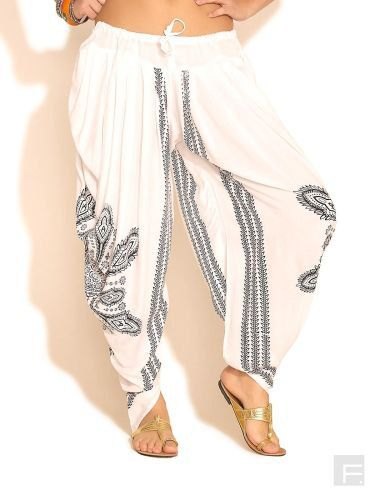 Harem / Dhoti Pants Kundalini Yoga  White by LittleLilbienen, $30.00