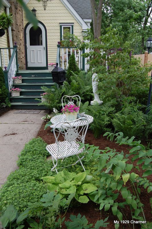 my 1929 charmer our cottage front garden httpmy1929charmer