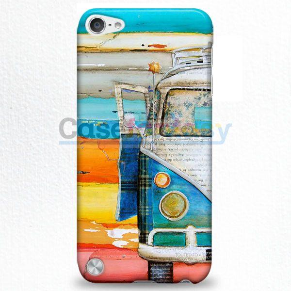 Vw Minibus Volkswagen iPod Touch 5 Case   casefantasy